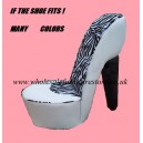 STILETTO CHAIR PINK / ZEBRA