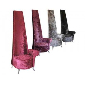 POTENZA CHAIR CRUSHED VELVET