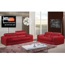 VIVA 3 + 2 LEATHER SOFAS