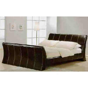 CORNWALL LEATHER BED